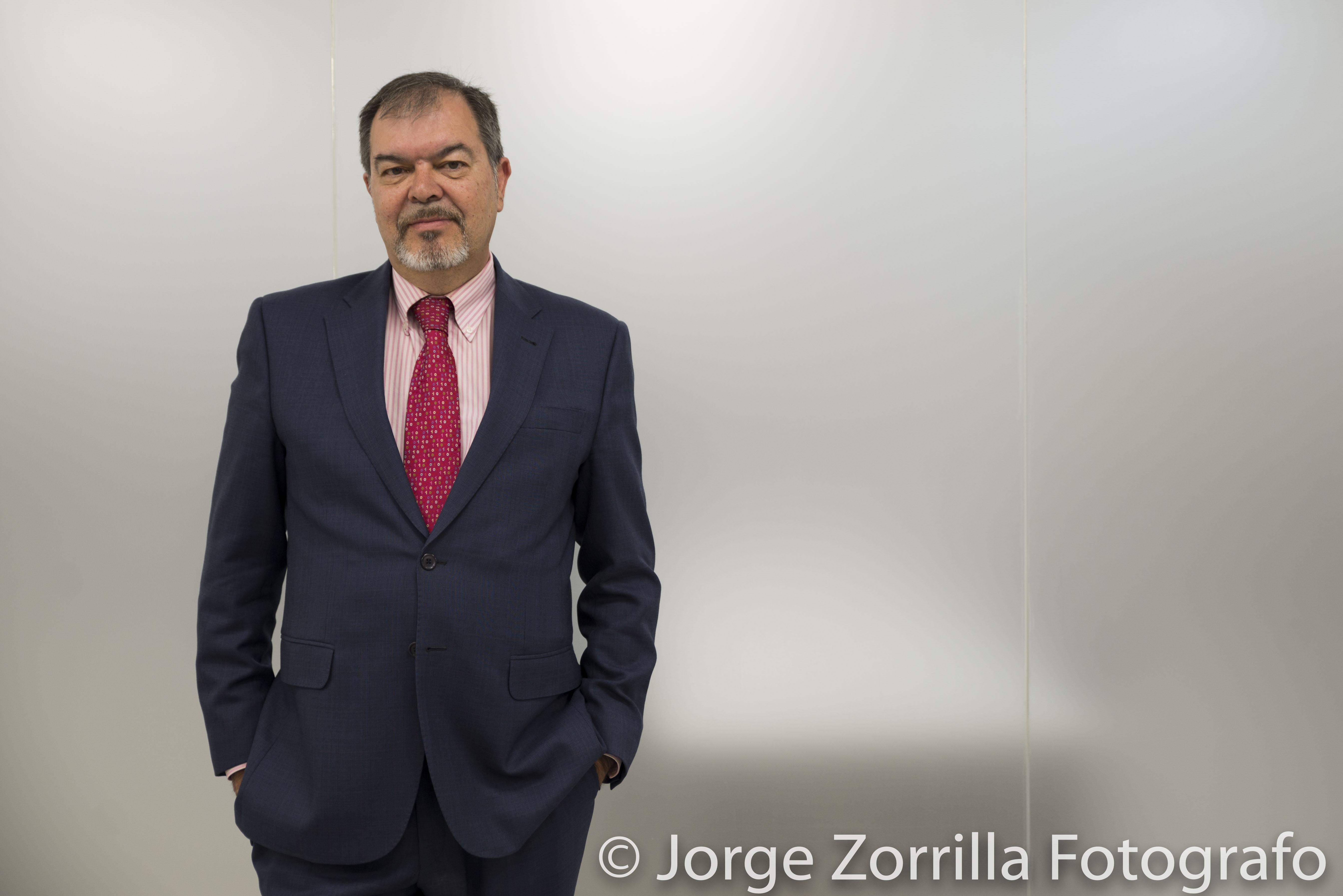 Fotografía Directivo de FCC Construcción © Jorge Zorrilla Fotógrafo Madrid