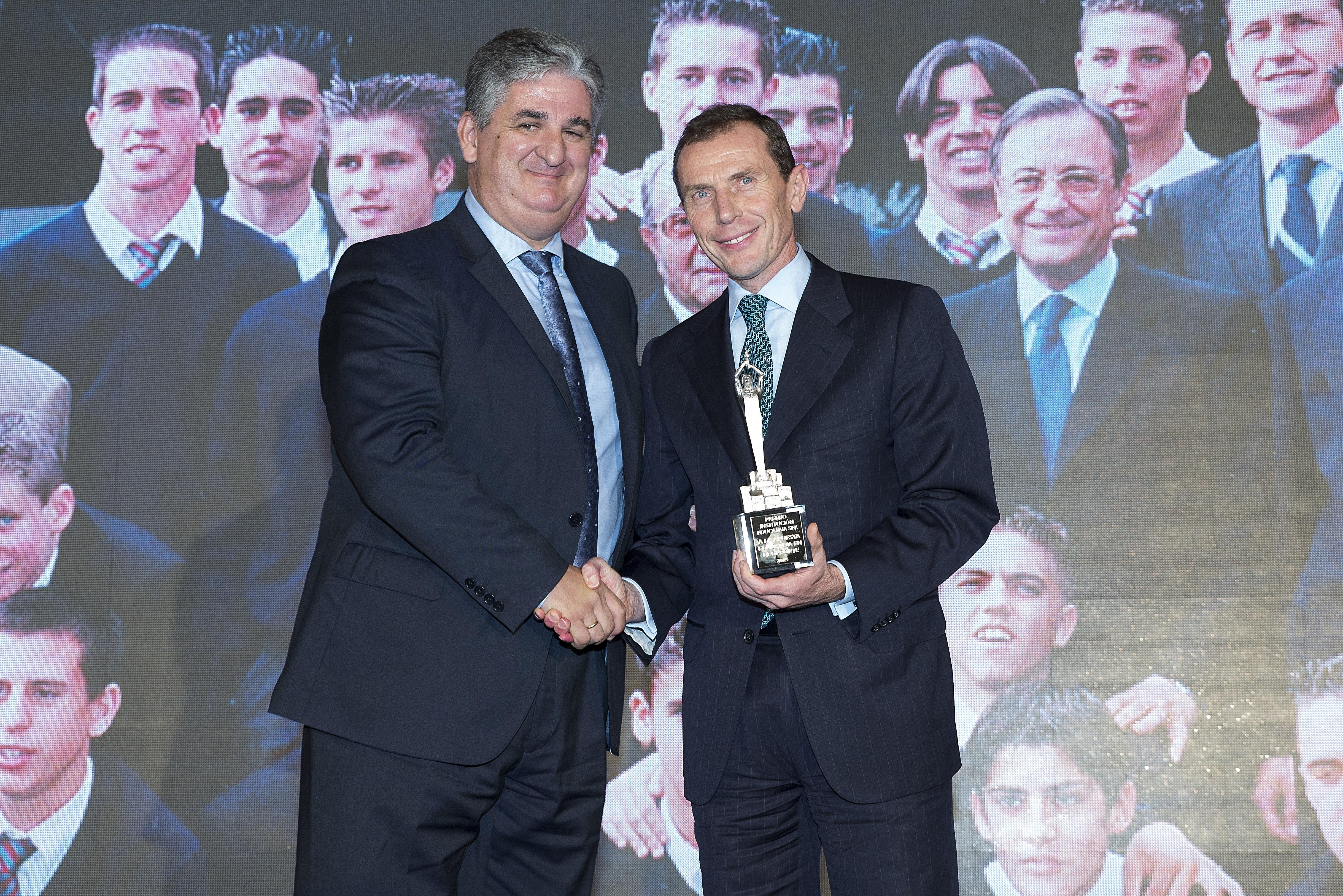 Fotografía Emilio Butragueño Jefe Relaciones Institucionales Real Madrid CF  © Jorge Zorrilla Fotógr
