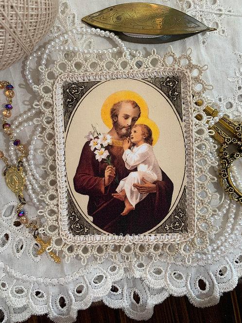 Young St Joseph & Child Jesus Detente