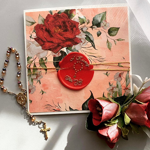 A Rosary For You Card