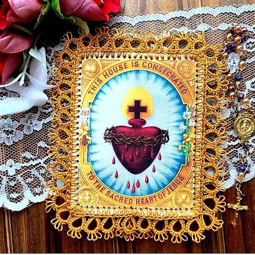 Sacred Heart Home Consecration Detente