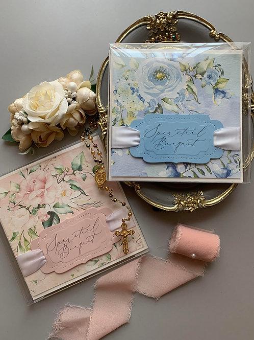 Spiritual Bouquet Square Card