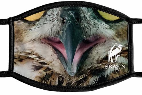 Great Horned Owl Face Mask
