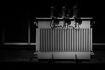 High voltage power transformer in the ci