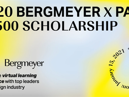 Launch of 2020 Bergmeyer Scholarship & Virtual Experience