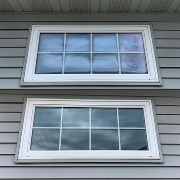 Seal Failed Garage Window