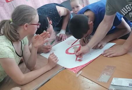 Территория безопасного детства - посёлок Усть-Кемь.