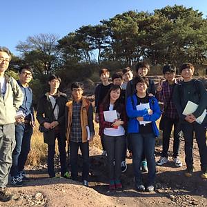 2015 '화석 및 실험' 야외실습