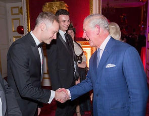 fred rzon and Prince Charles