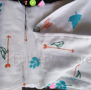 Bird Design Baby Blanket