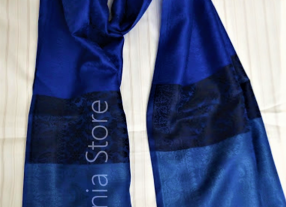 Dark Blue Mix Stole