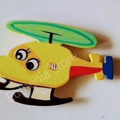 Helicoptor wooden Fridge Mgnet