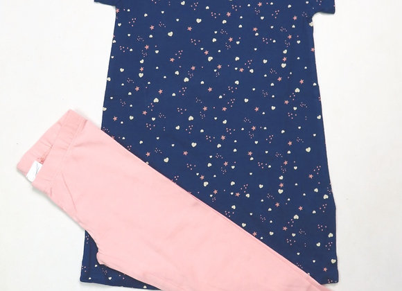 Girls Long Top Leggings Set