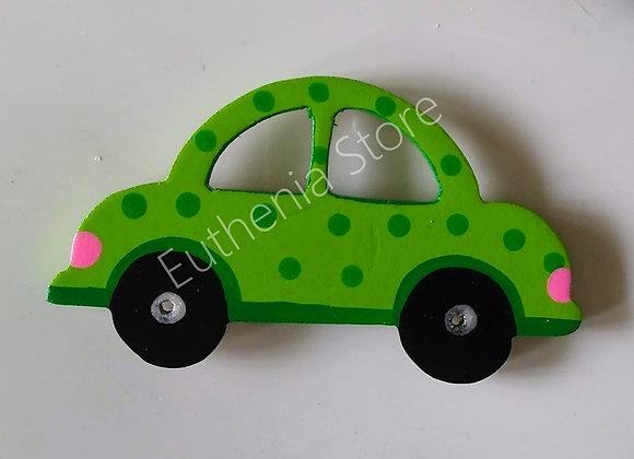 Hand Painted Car Fridge Magnet