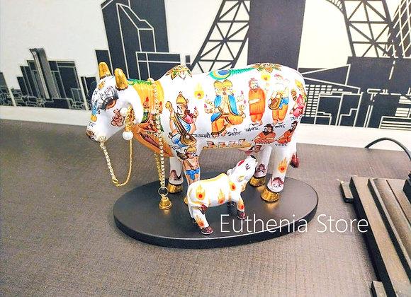 Kamdhenu Cow Calf Set