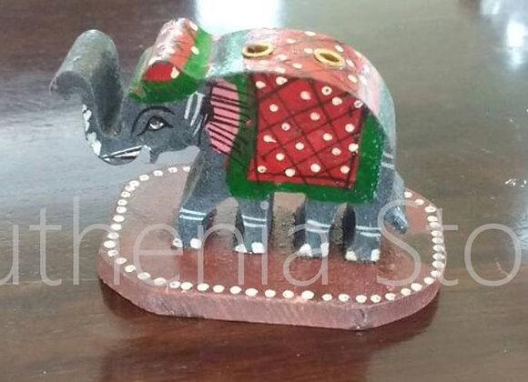 Elephant Wooden Incense Holder