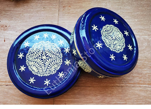Blue Enamelware Gift Set