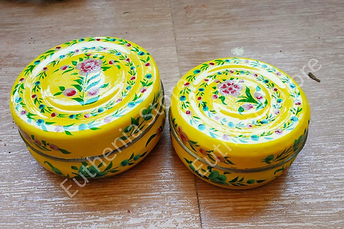 Yellow Enamelware Gift Set