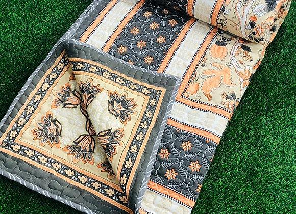 Jaipuri Cotton Double Bed Comforter