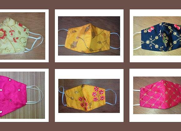 Designer Ladies Masks - Pack of 3
