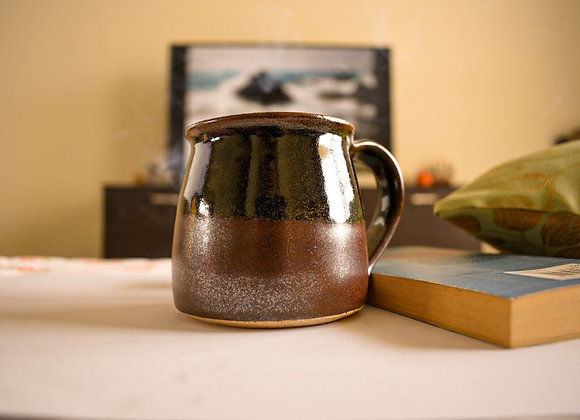 Brown Glaze Pottery Cup