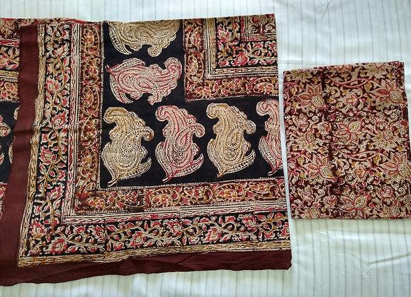 Kalamkari Design Printed Bedsheet