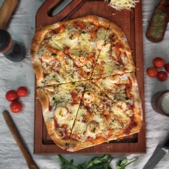 Pizza de Camarones