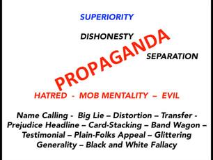 Beware of Propaganda!