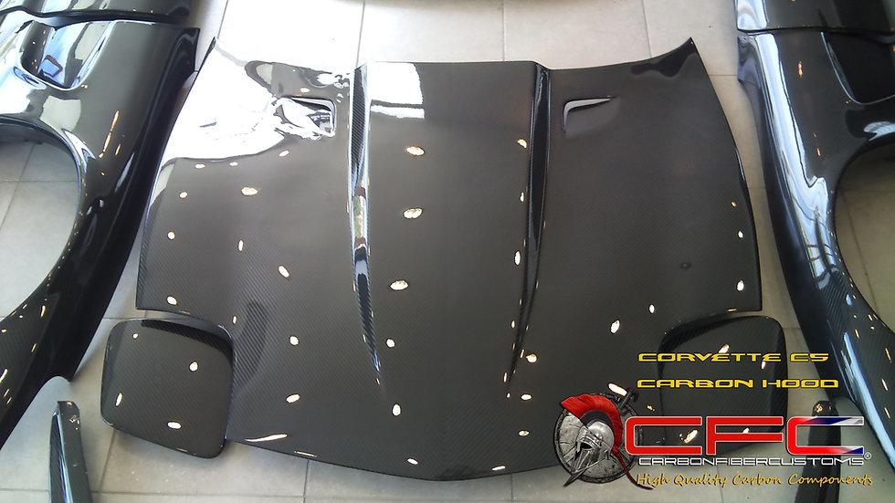 Corvette C5 Carbon Fiber Hood