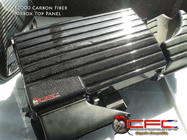 Honda S2000 AP1 & AP2 Carbon Fiber Airbox Top Panel