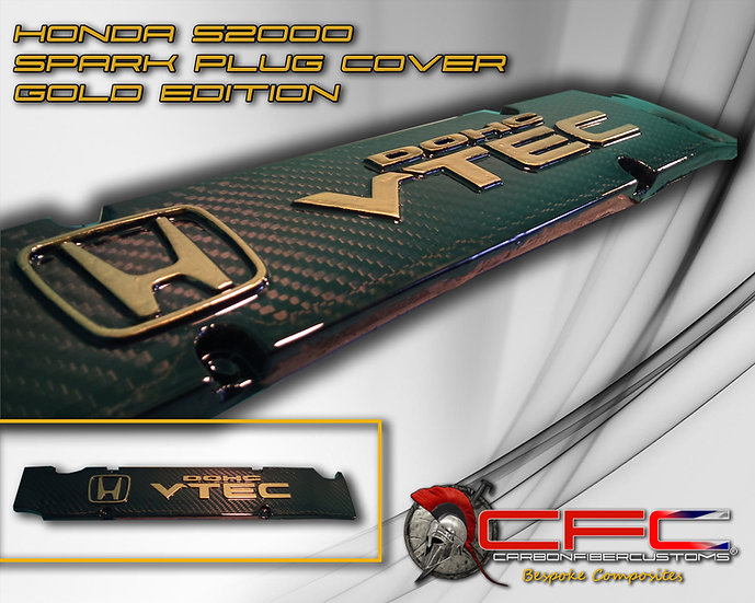 Honda S2000 AP1 Splark Plug Cover Gold Edition