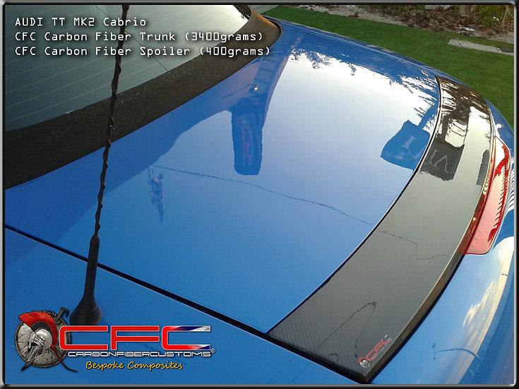 Audi TT Cabrio MK2 Carbon Fiber Trunk