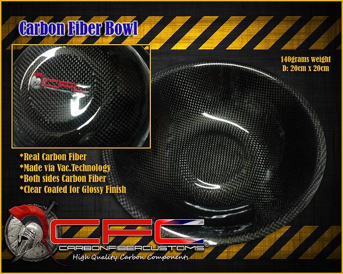 CFC Carbon Fiber Bowl