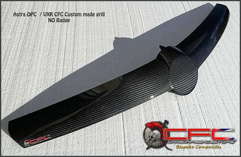 Opel Astra H Carbon Fiber Grill No Badge