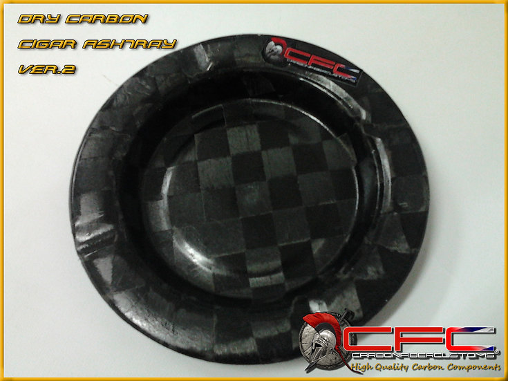 CFC Carbon Fiber Ashtray