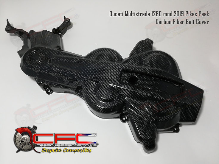 Ducati Multistrada 1200 2010-2017 & 1260 2018+ Carbon Fiber Belt Cover
