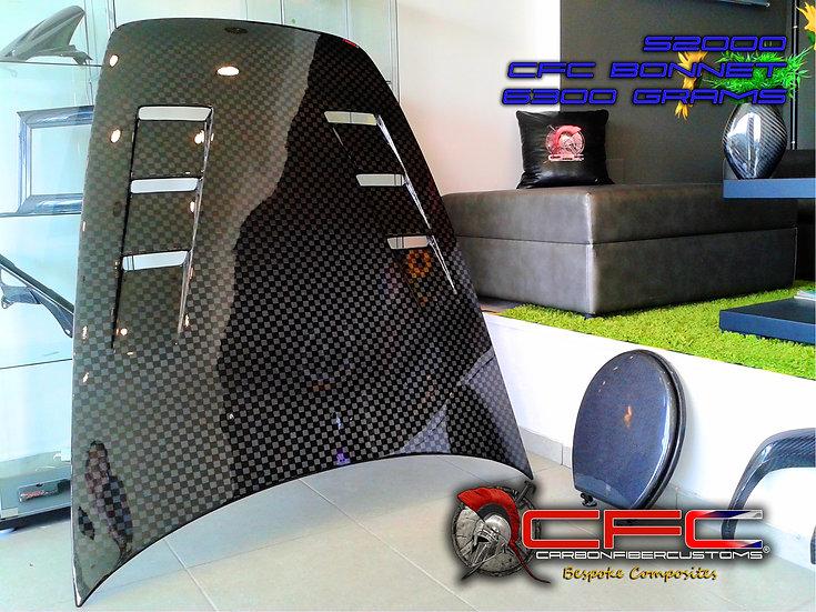 Honda S2000 AP1 & AP2 Carbon Fiber Vented Hood
