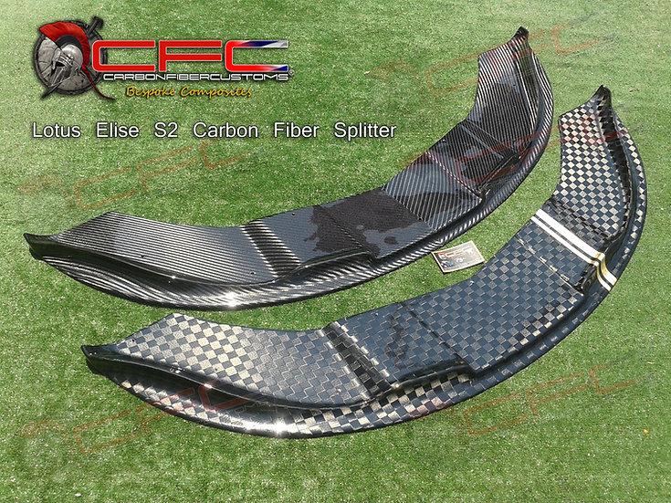 LOTUS ELISE  S2 Fiberglass / Carbon Fiber Splitter