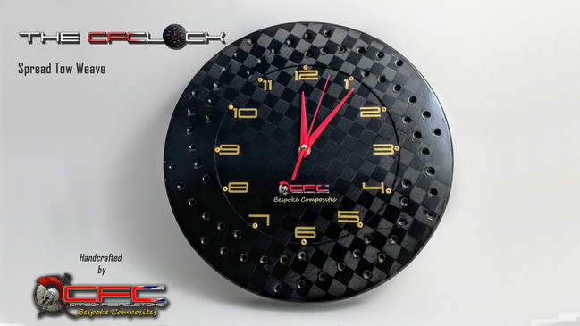 The CFClock Spread Tow Weave