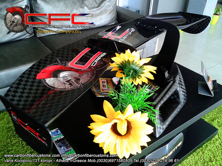 Racing Carbon Fiber Wing 160cm x 30cm