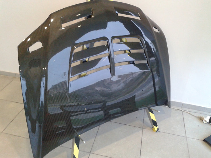Mitsubishi EVO 7 8 9 Carbon Fiber Hood