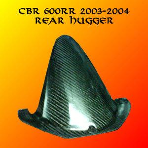 Honda CBR600RR 03-04 Carbon Fiber Rear Hugger / Fender
