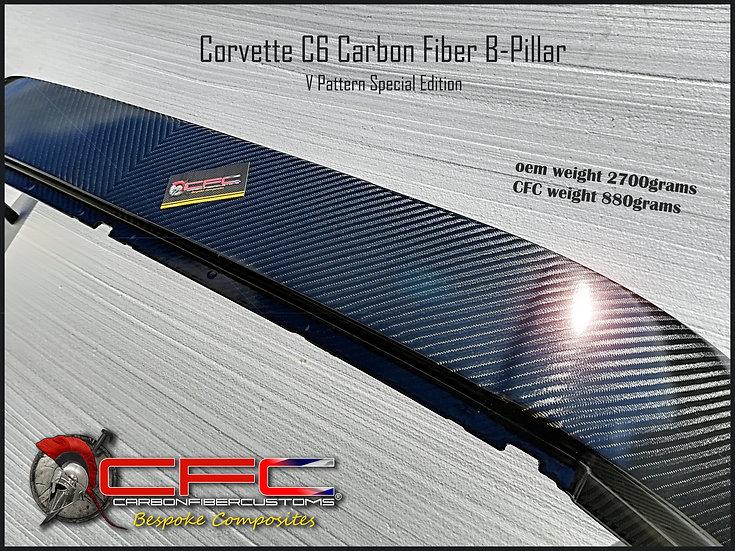 Corvette C6 CFC Carbon Fiber B-Pillar