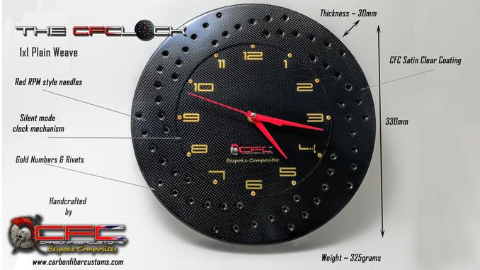 The CFClock Dimensions & Details