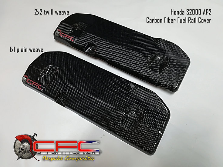 Honda S2000 AP2 Carbon Fiber Fuel Rail Cover