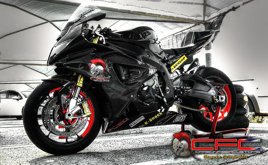 BMW S1000RR 2014 Carbon Fiber Racing Bodykit