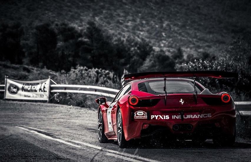Ferrari Challenge 458 Rear Bumper
