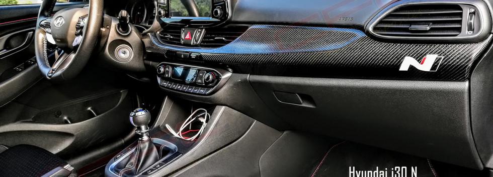 Hyundai i30 Console Skinning by CFC