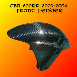 Honda CBR 600RR 03-04 Carbon Fiber front Fender
