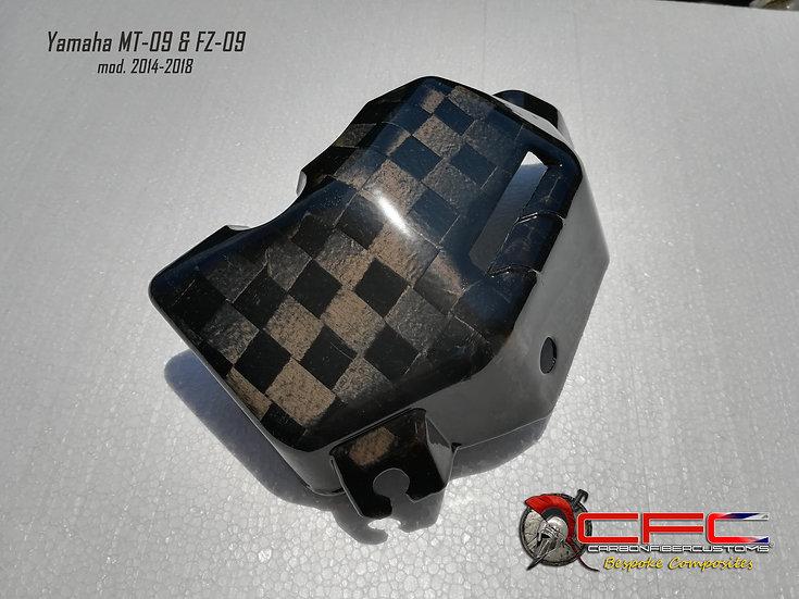 Yamaha MT-09 FZ-09 Carbon Fiber Water Coolant Side Cover